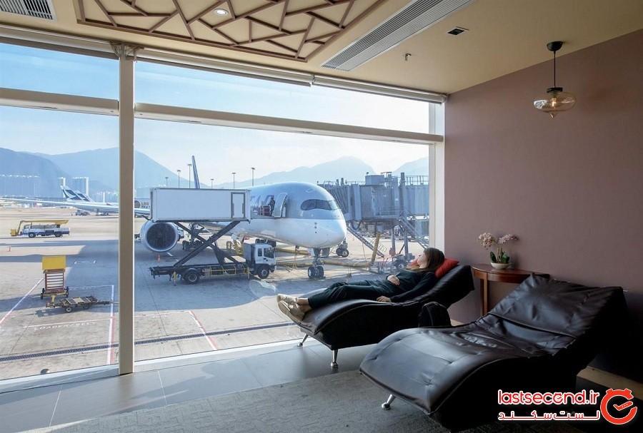 10 نمونه از بهترین فرودگاههای جهان برای استراحت!