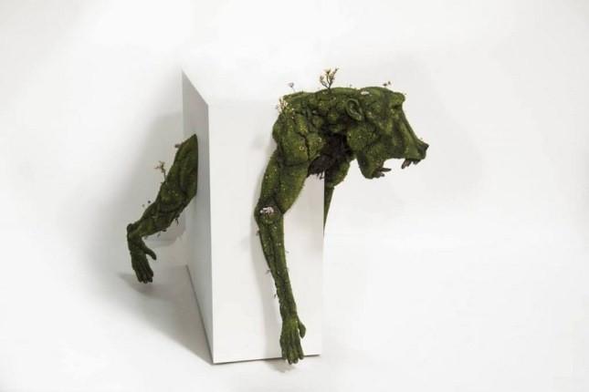 با این مجسمههای گیاهی سورئال، باغچهتان زنده می شود