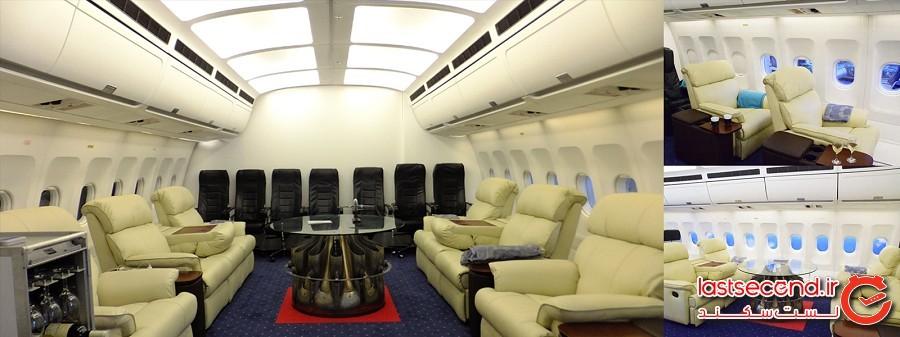 هتل فرودگاهی ژاپن شبیهساز پرواز را به اتاق میآورد