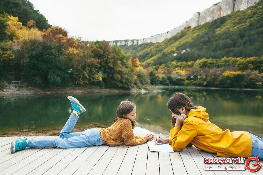 سفر بهترین هدیه ایست که میتوانید به کودکان خود بدهید