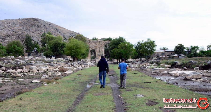 یک میدان گلادیاتور رومی با قدمت 2000سال در ترکیه کشف شد