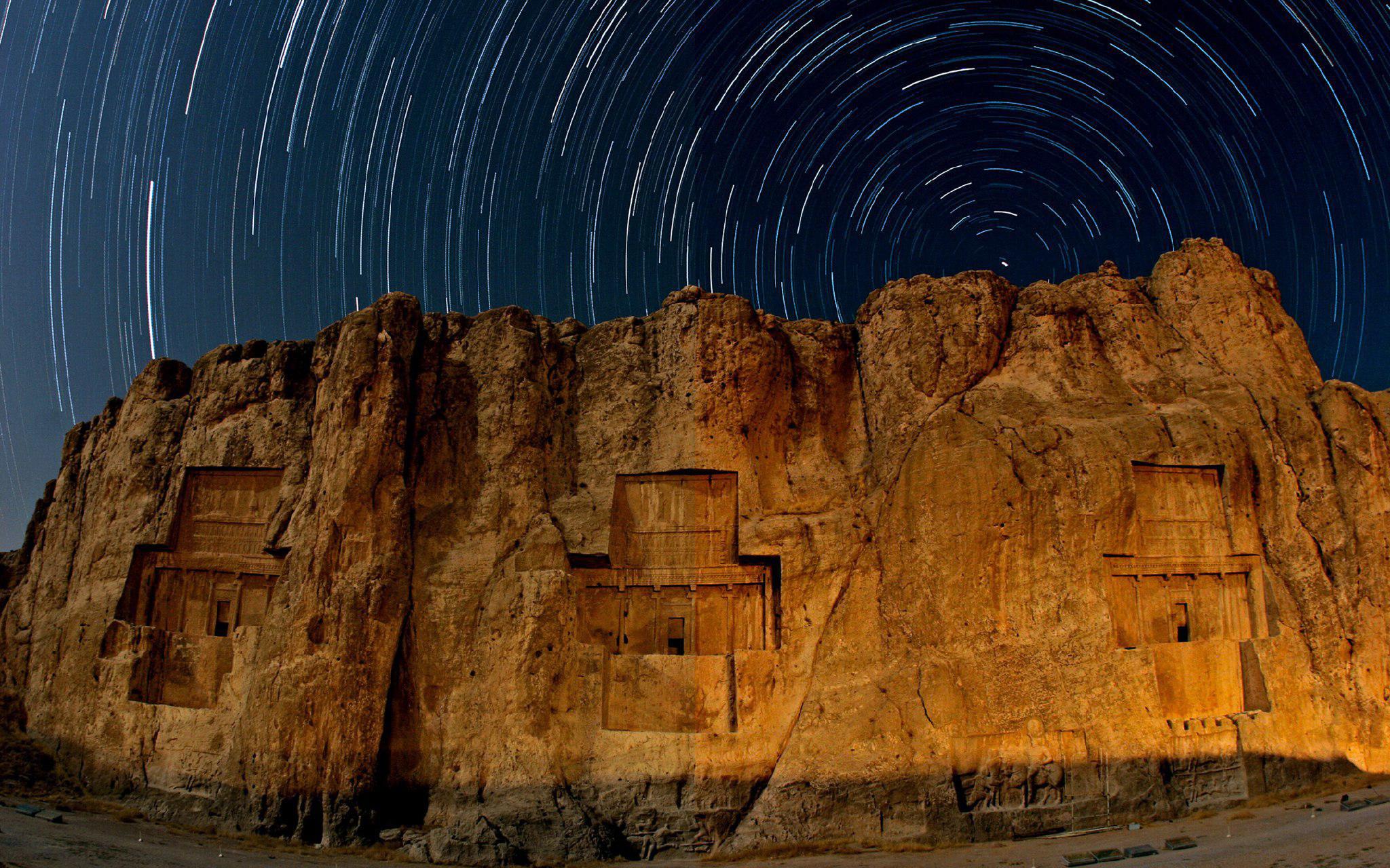 نقش رستم فارس، اعجاز تاریخی ایران