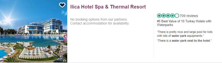 بهترین هتل های ترکیه از نظر تریپ ادوایزر