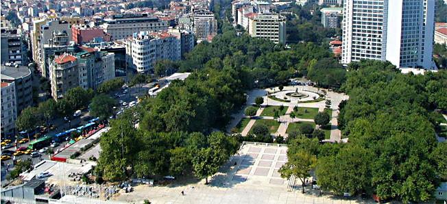 پارک تکسیم گزی