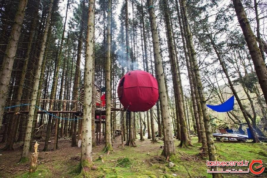 10 راه غیرعادی برای بیرون رفتن و چادر زدن