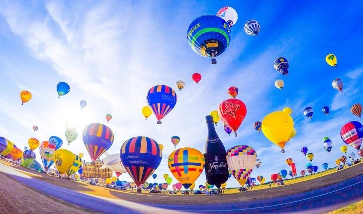 آیا جشنواره بالنهای فرانسه، بزرگترین گردهمآیی جهان است؟