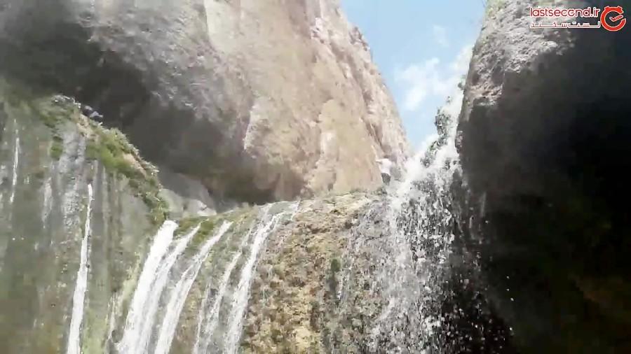 همنوایی آب و سنگ در آبشار سمیرم