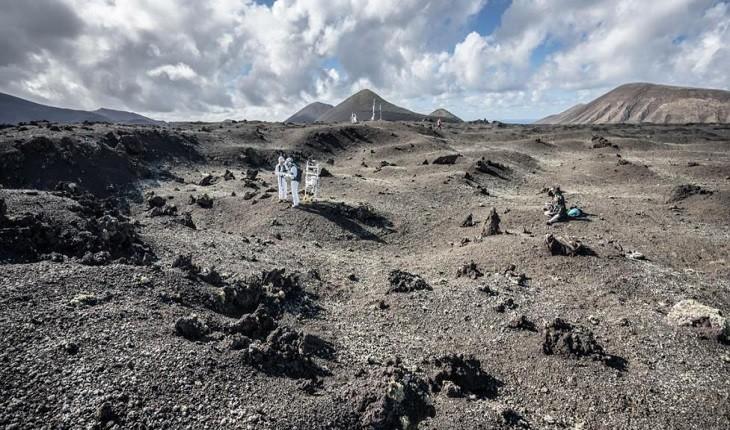 جزیره اسپانیایی، محلی برای آماده سازی مریخ نوردان