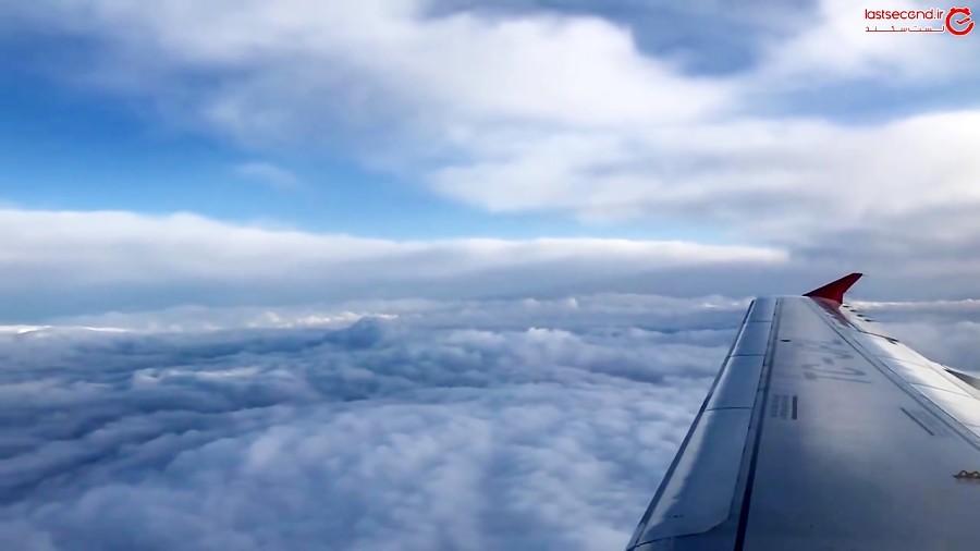 پرواز تفلیس به استانبول در هوای بارانی