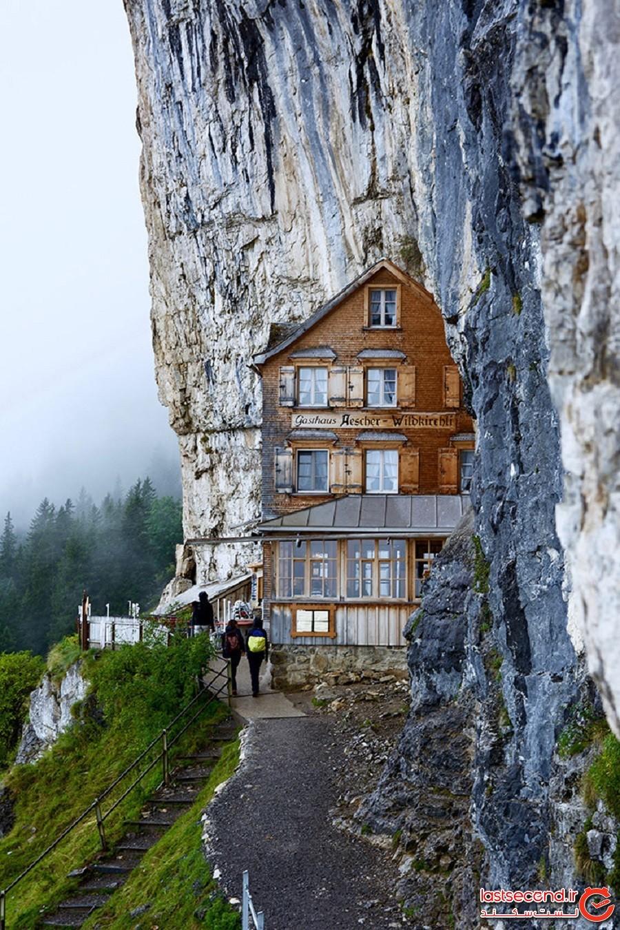 با تلهکابین به مهمانخانه 170 ساله وکوهستانی سوئیس بروید