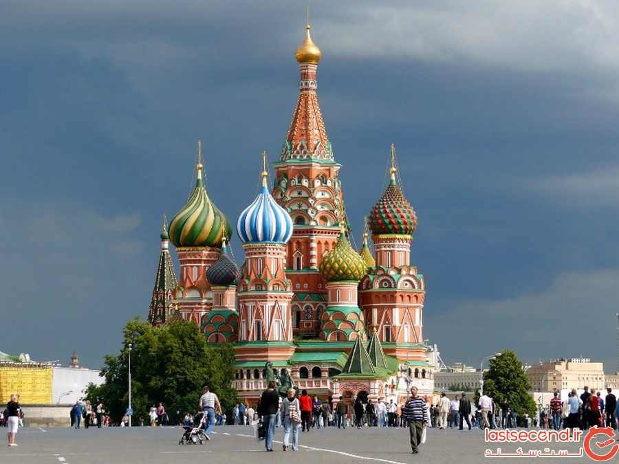 سفرنامه مسکو و سن پترزبورگ