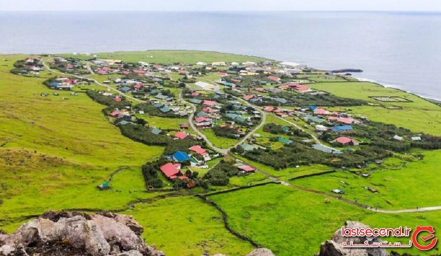 تریستان دا کونا (Tristan da Cunha)