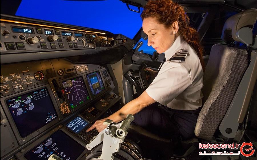 خلبانان چپ دست به درستی عمل میکنند