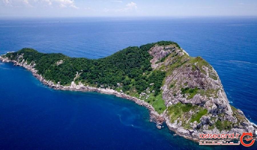 جزیره بزرگ سوخته شده (Ilha da Queimada Grande)