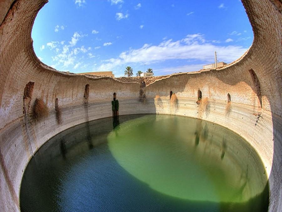 برکه کل، یکی از بزرگترین آب انبار های ایران در گراش