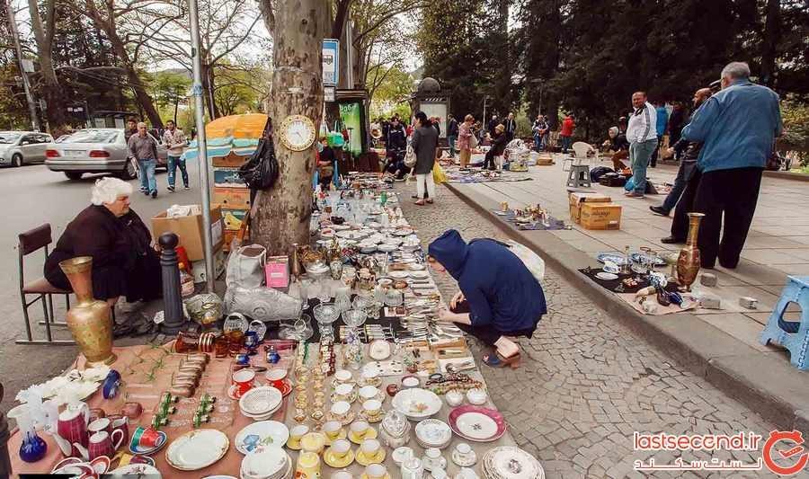 بازار روز تفلیس