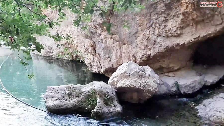 غار ده گردو زیبا و هیجان انگیز