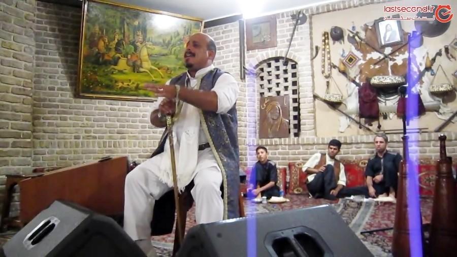 نقالی مرشد میرزا علی در قهوه خانه آذری