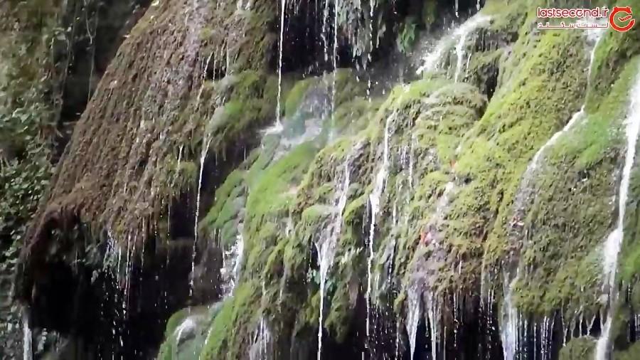 نگاهی به آبشار کبودوال