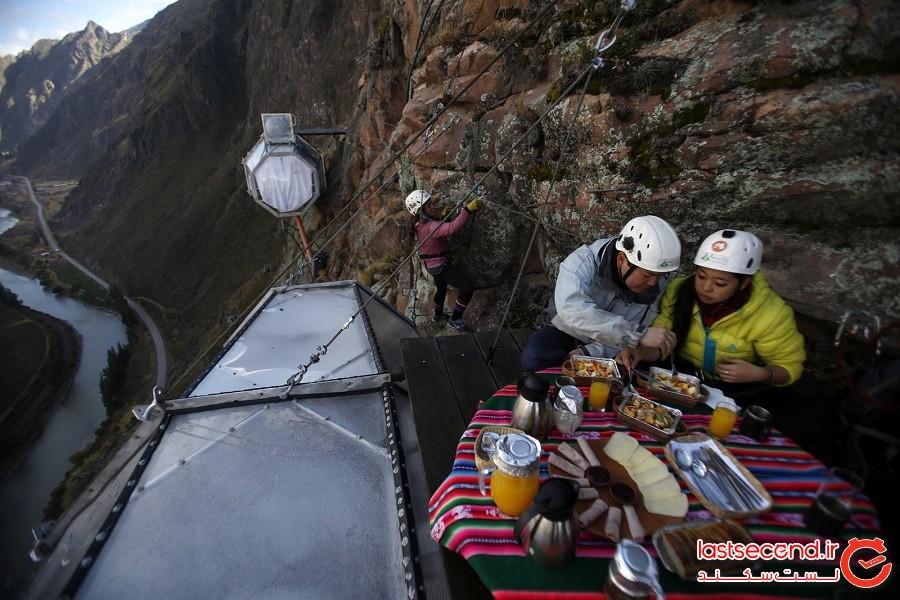 ترسناکترین و زیباترین هتل جهان در پرو