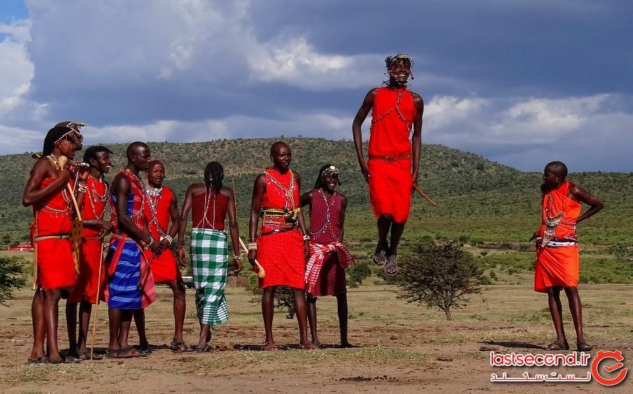 ماسایی (Massai)، دره ریفت (Rift Valley)، آفریقا (Africa)