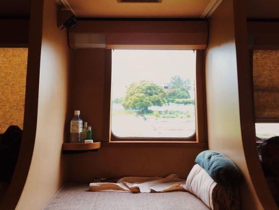 طراحی نوین قطارهای تندروی تختخواب دار در ژاپن