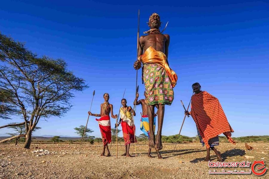 قبیله سامبورو (Samburu)، دره بزرگ ریفت (Great Rift Valley)، شمال کنیا (Northern Kenya)