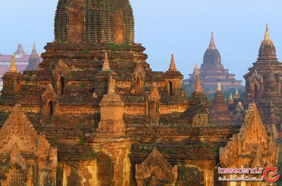 سفری به باگان در میانمار از دریچهی شاتر دوربین