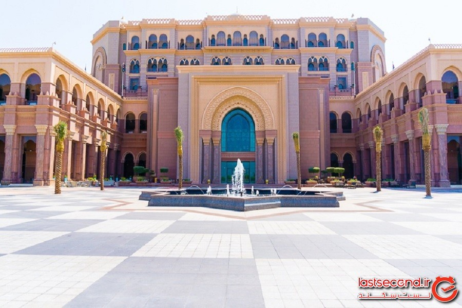 کاخ امارات در ابوظبی، هتلی 3 میلیارد دلاری که از طلا ساخته شده است!