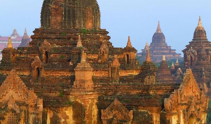 باگان، منطقه ای زیبا و عجیب در میانمار با معابدی خیره کننده!