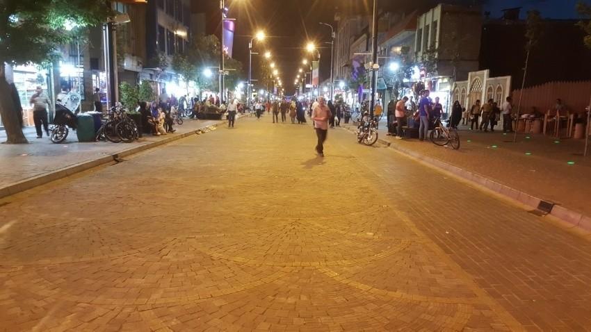 Zanjan Sabzeh Meydan Walkway