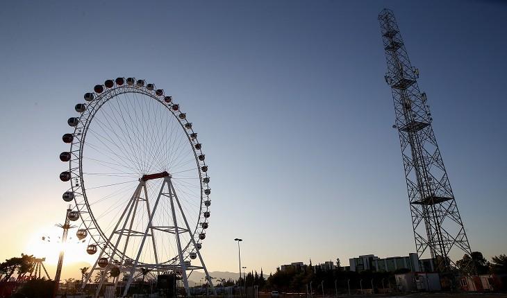 دومین چرخ و فلک بلند اروپا ملقب به قلب آنتالیا افتتاح شد!