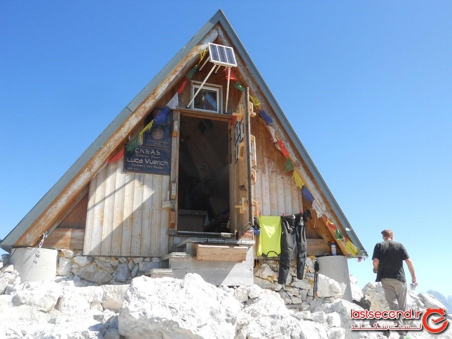 هتلی رایگان با بهترین چشماندازِ جهان، در ارتفاع 2500 متری آلپ