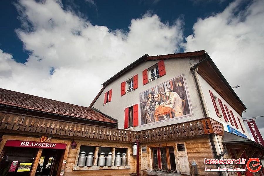 هتل سوییسی – فرانسوی آربِز (Hotel Arbez Franco-Suisse)