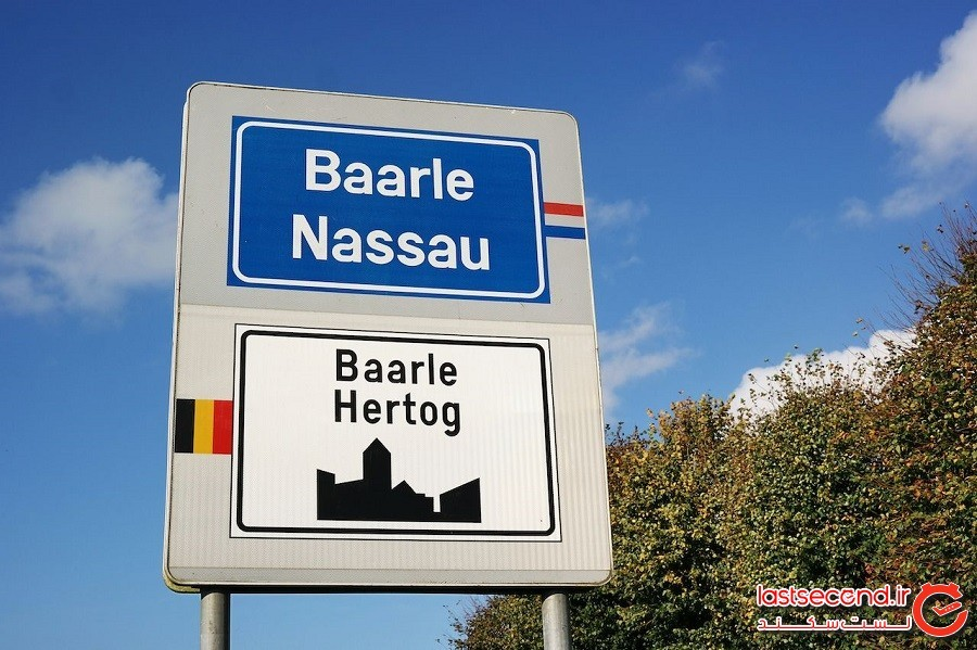 بارل (Baarle) – بلژیک و هلند (Belgium and the Netherlands)