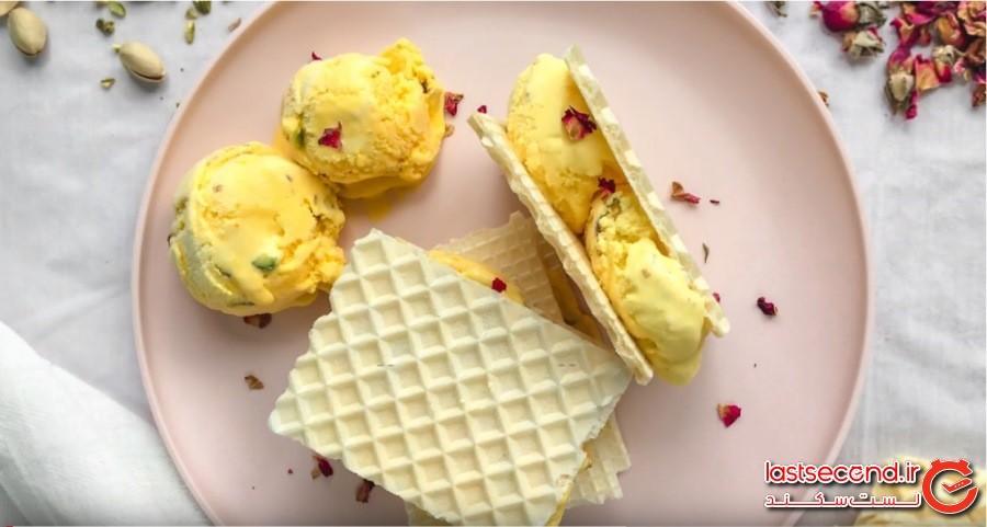 ایران: بستنی سنتی (Bastani sonnati, Iran)