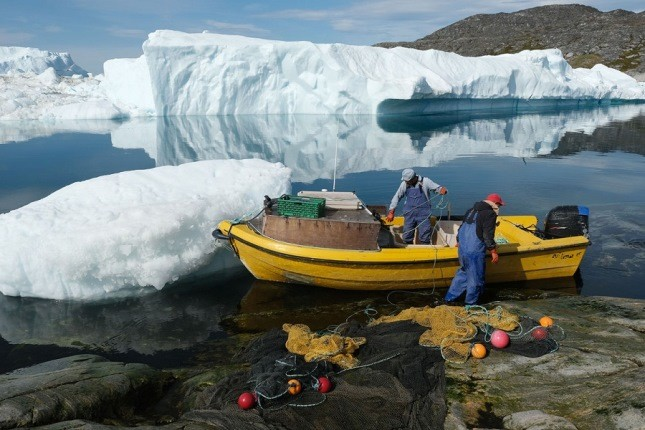موج گرما در گرینلند و خطر آب شدن یکی از بزرگترین صفحات یخی دنیا!