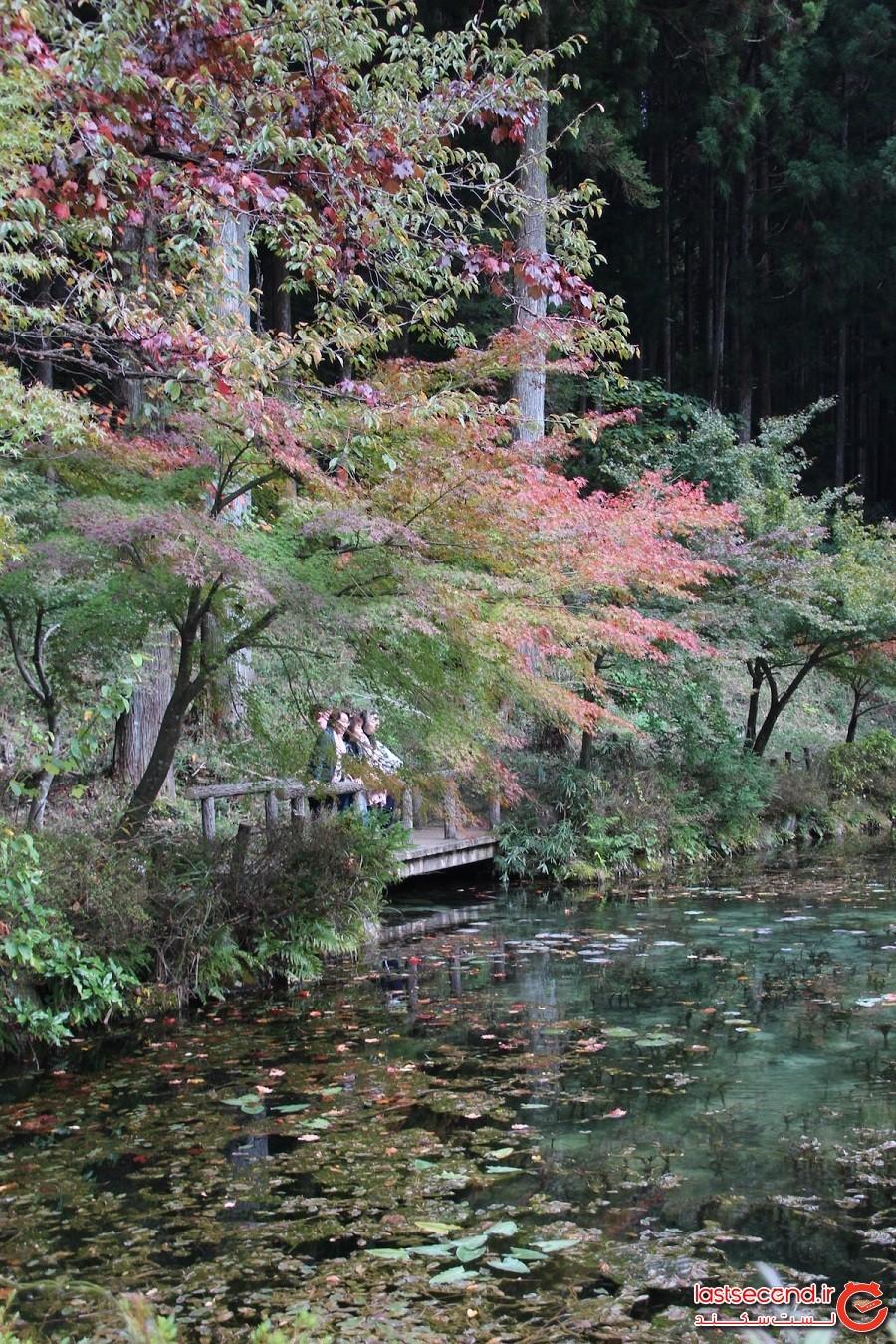 دریاچه مونه در ژاپن