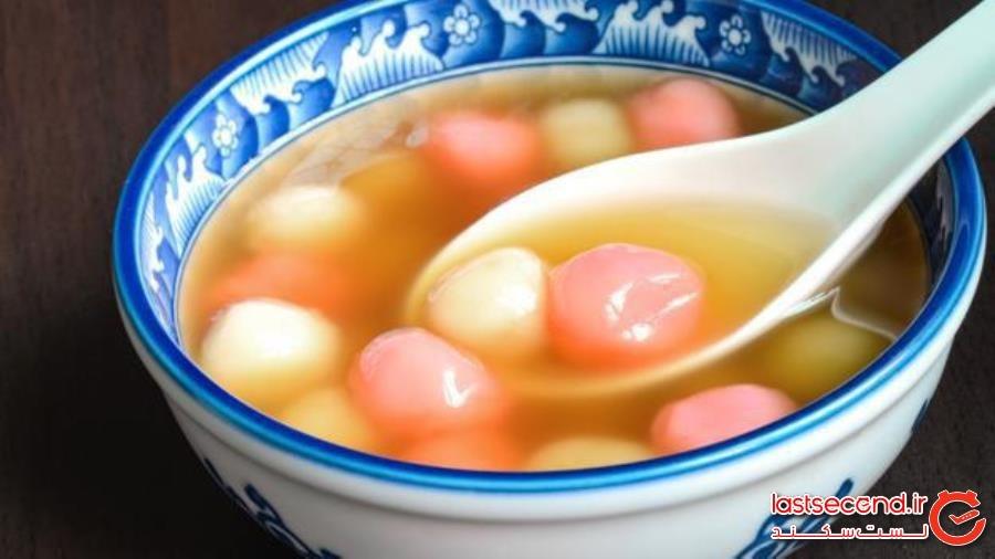 نوعی شیرینی چینی که همآوا با به همپیوستگی است - غذای روح چینی