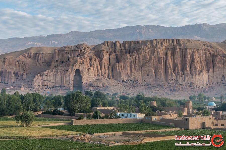 دو بودای عظیمالجثه – شهر بامیان کشور افغانستان