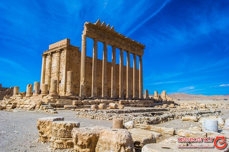 معبد بِل – شهر تدمر کشور سوریه