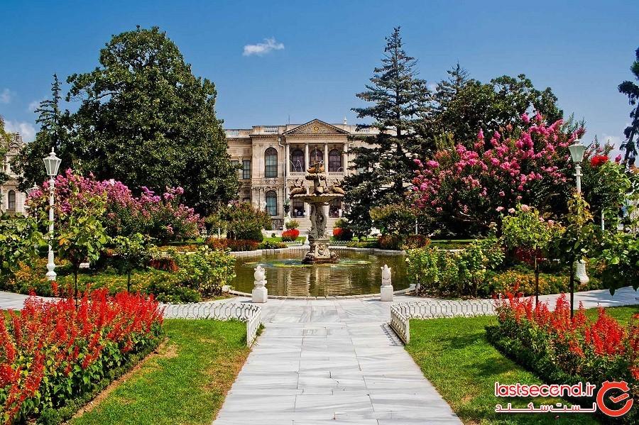 کاخ دولماباغچه (Dolmabahçe Palace)
