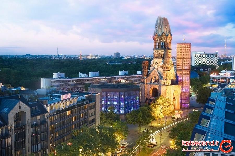 کلیسای یادبود کایزر ویلهلم – شهر برلین، کشور آلمان