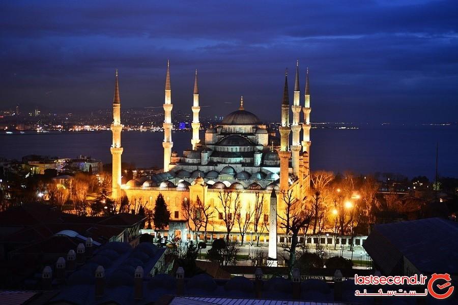 مسجد آبی (Blue Mosque)