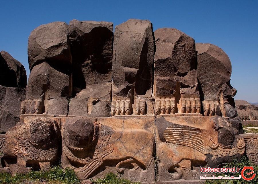 معبد عصر آهنی عین دارا – شهر عفرین کشور سوریه