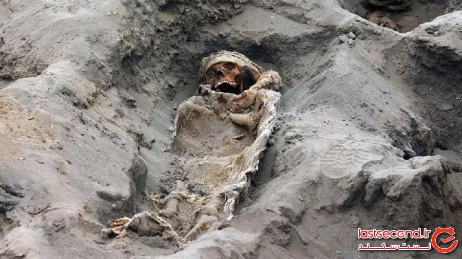 بقایای 250 کودک قربانی شده که در پرو یافت شد
