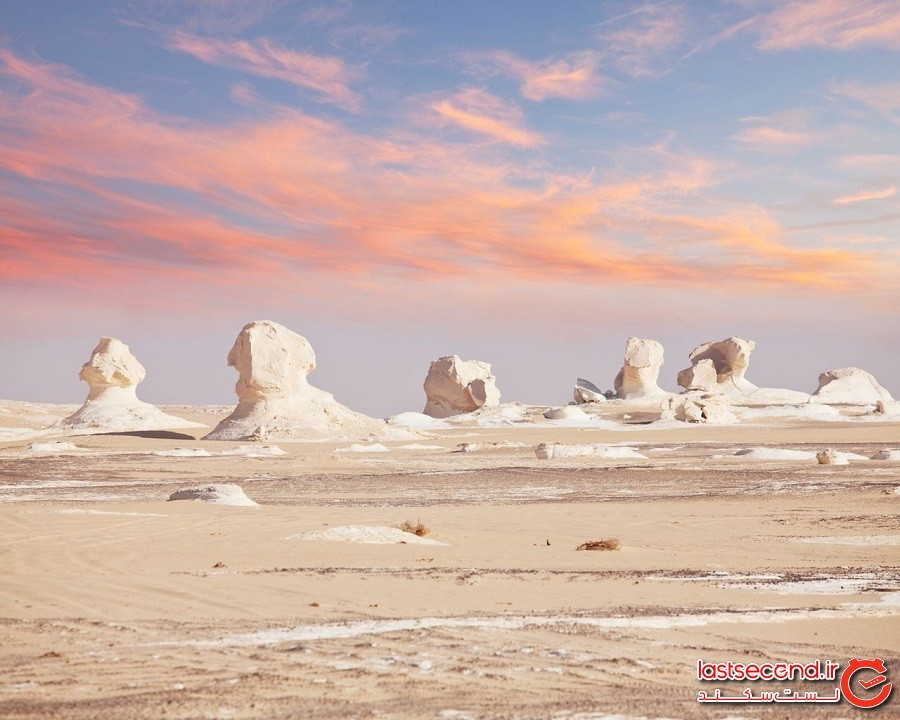 صحرای سفید (White Desert)، مصر