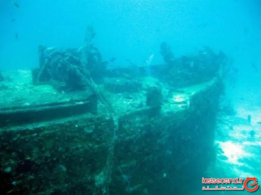 کشتیهای غرقشده، فلوریدا کیز (Shipwreck Trail in the Florida Keys)