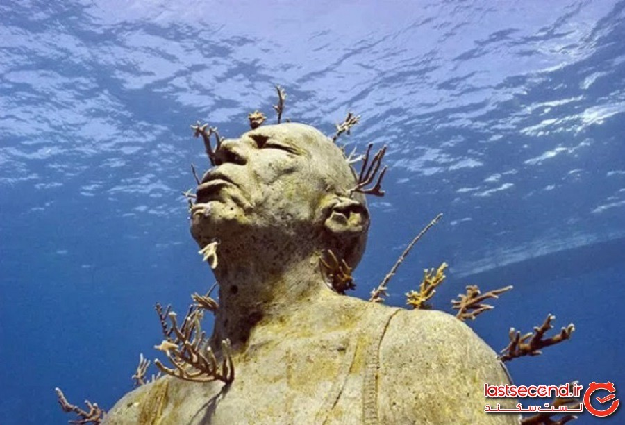 موزه زیر آب در مکزیک (Museo Subacuatico de Arte in Mexico)
