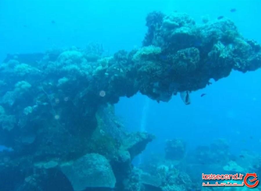 بزرگترین قبرستان کشتی جهان در تالاب چوک (the World's Largest Ship Graveyard at Chuuk Lagoon)